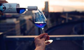 Have You Tried BLUE Wine Yet?