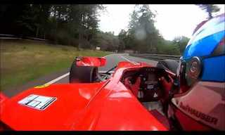 Through the Eyes of a Dallara GP2 Driver!