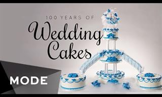 The Evolution of Wedding Cakes Over the Past Century