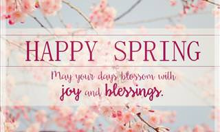 Send a Spring Greeting to a Friend Today!