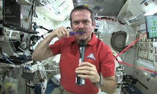 Fascinating - How to Brush Your Teeth in Space