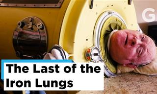 This Polio Survivor's Iron Lung Almost Collapsed and Then...
