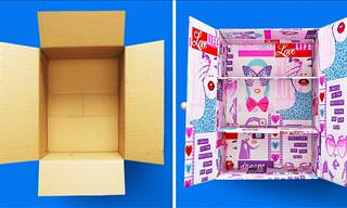 29 Things You Can Do With Cardboard Boxes!