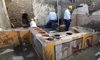 Amazing Discovery - a Fast Food Stall Uncovered in Pompeii