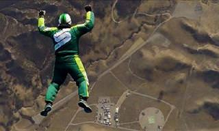 Crazy! Man Jumps From Plane with No Parachute