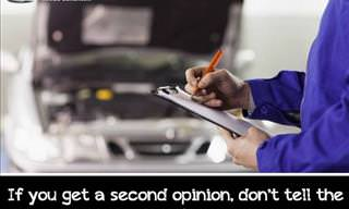 Things You Should Know Before Going to a Mechanic!