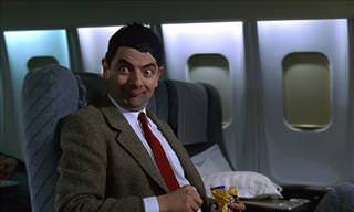 Mr. Bean Flies First Class