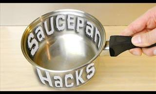 Your Saucepan Is More Useful Than You Thought...