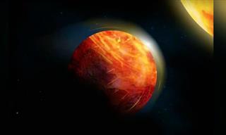 Lava Oceans & Rain of Rocks: New Bizarre Planet Discovered