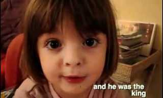 Little Girl Story Time - Adorable and Hilarious!