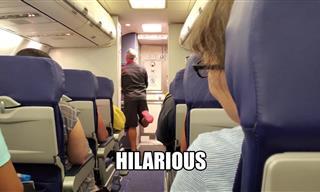 The Funniest Flight Attendant You'll Ever Meet