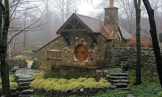 Far From the Shire, A Real Hobbit Home!