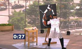 In Under 2 Minutes, This Artist Will Blow You Away!