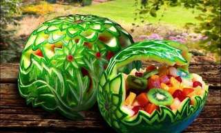 Playing with Food the Artistic Way!