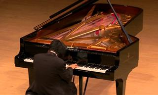 Pianist Tears Up as He Plays His Song For Tsunami Victims