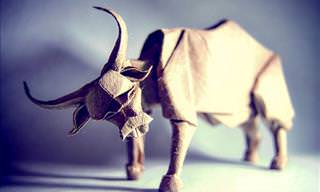 Wonderful Origami Animals from Artist Gonzalo Calvo
