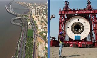 Mumbai's Bold Plan to Build a Coastal Road Over the Sea