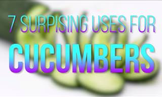Did You Know These Amazing Uses of Cucumbers?