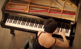 Yuja Wang Plays The Smuggler by Schumann