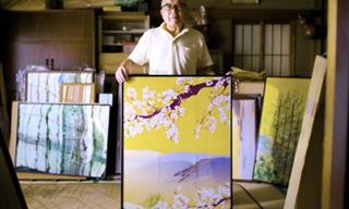 "Tatsuo Horiuchi, the Artist Who ""Paints"" in Microsoft Excel"