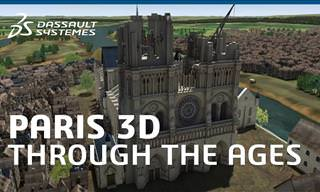 The Evolution of the City of Paris in 3D Animation