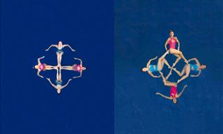 Who Knew Aerial Photography Captures Sports So Beautifully