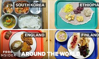 23 School Lunches From Around the World