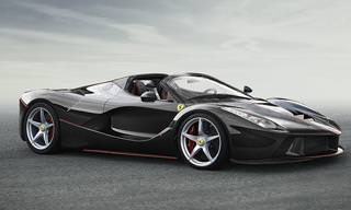LaFerrari Aperta Debuts at the Paris Motor Show