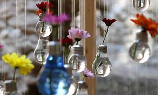 21 Light Bulb Recycling Ideas