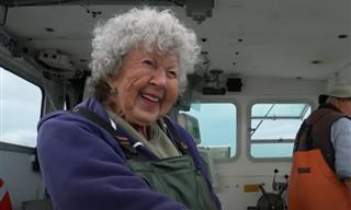 Meet Virginia Oliver - a 101-Year-Old Lobster Lady