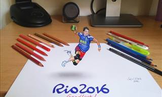 Amazing 3D drawings by Nikola Čuljić