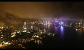A Night and Day in the Life of Hong Kong...