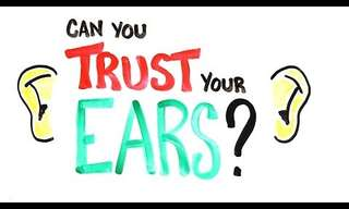 I Can`t Believe My Ears... Literally!
