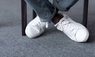 5 Ways to Clean Dirty White Shoes