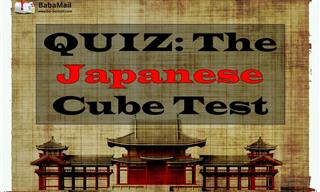 This Japanese Cube Test Reveals Your Character...