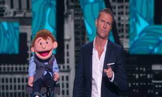 Paul Zerdin and Sam the Dummy