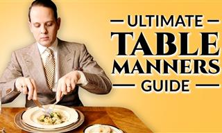 Know Your Table Manners on Your Next Public Outing