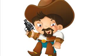 Joke: A Cowboy at the Theater