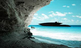 Timur Bozca's Amazing Black Swan Superyacht Design