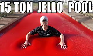 Get Ready to Dive Into the World's First Ever Jello Pool!