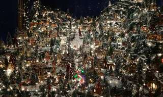 A Christmas Village That Comes to Your Living Room