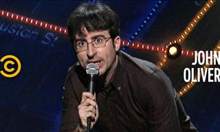 Hilarious Stand Up Comedy Routine By John Oliver
