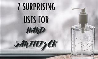 7 Important and Surprising Uses for Hand Sanitizer