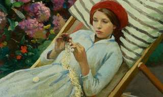 The Idyllic Artwork of Harold Harvey