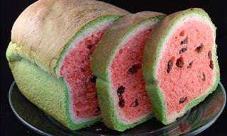"How to Make ""Watermelon Bread"""