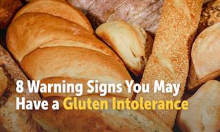 8 Signs You May Have a Gluten Intolerance