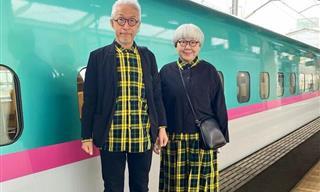 This Senior Couple Has an Impeccable Sense of Style!