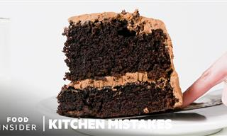 Chocolate Cake: Baking Mistakes and Hacks You Must Know