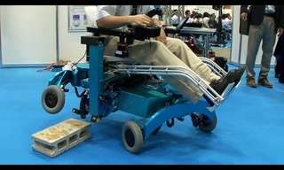 A Wheel Chair with Legs?