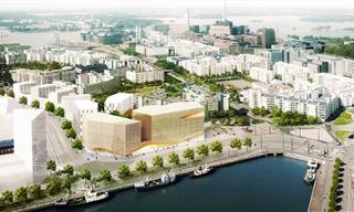 Finland is Building a City Made of... Wood?